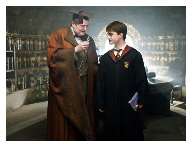 horace slughorn & harry potter