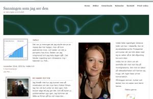 nytt bloggutseende