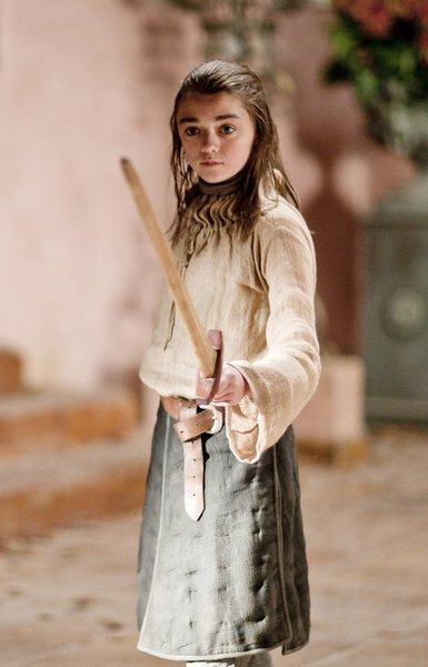 Maisie Williams -  Arya